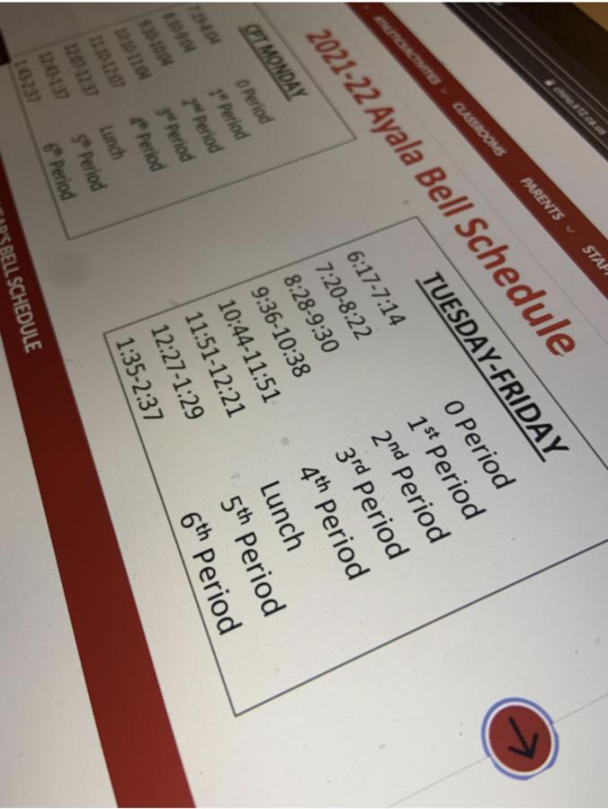 Ayala+schedule+change